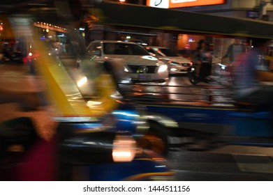 Chinatown, Bangkok, Thailand - 29 November 2018: Famous street food at night at Chinatown, Yaowarat, in Thailand, China at night is a tourist attraction and an important place for travelers