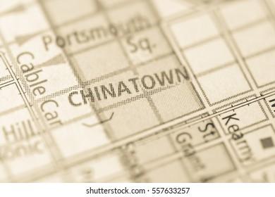Chinatown. California. USA