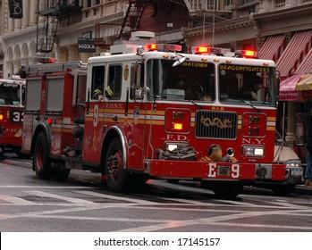 Chinatown Firetruck NYC