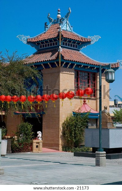 Chinatown, Los Angeles, California