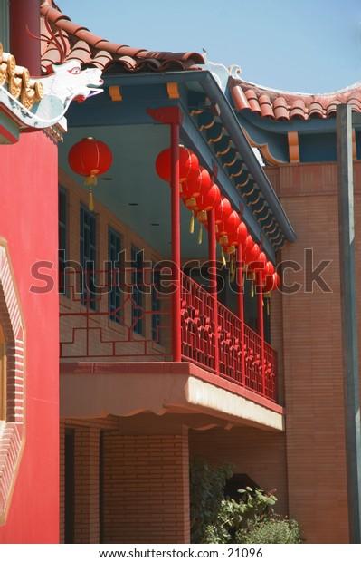 Chinatown porch