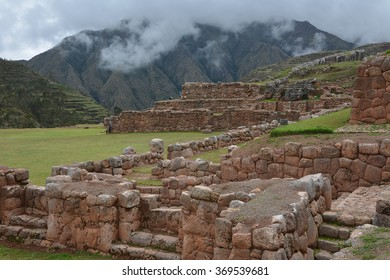 Chinchero, Sacred Valley Peru.Chinchero in the Sacred Valley Peru. Spanish archetcture built on top of inca ruins and terraces.