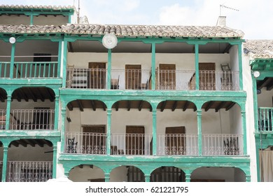 Chinchon, Spanish municipality famous for its old medieval square of green color