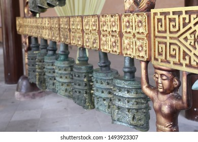 Chinese Ancient Chimes model background