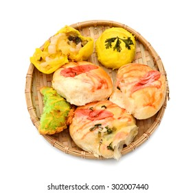 Chinese ancient dessert called 'Pia' or Mung bean filling cake