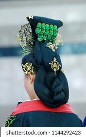 Chinese ancient lady bun