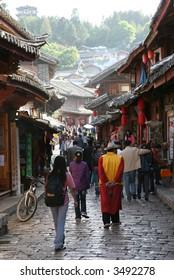 chinese ancient town - lijiang of yunnan