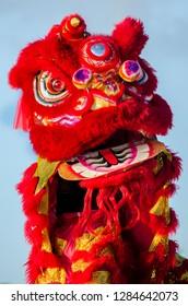 chinese barong figure