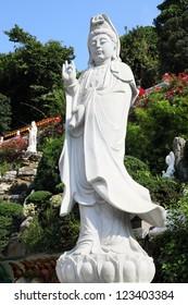 Chinese bodhisattva of Western Monastery, Hong Kong