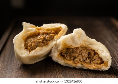 Chinese breakfast, steamed stuffed bun, Chinese northern style