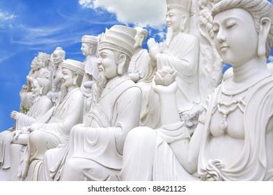 Chinese Buddha on the heaven