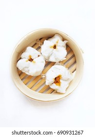 Chinese bun isolated