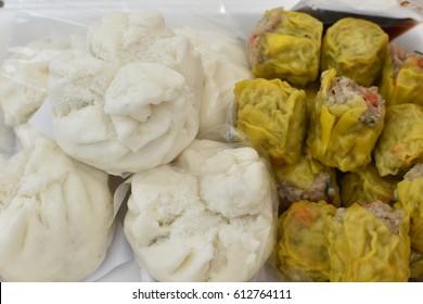 Chinese bun pork bun Chinese steamed dumpling Siopao
