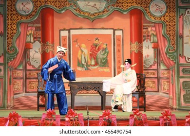 Chinese Cantonese Opera 2015 in Tung Chung, Hong Kong