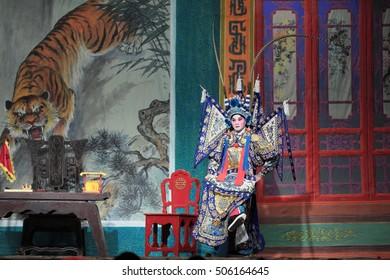Chinese Cantonese Opera 2016 in Tung Chung, Hong Kong