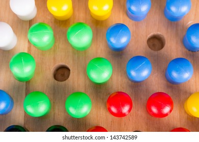 chinese checkers wooden board game