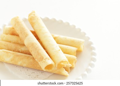 Chinese confection, waffle egg roll
