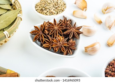 Chinese cooking ingredients spices star anise