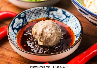 Chinese cuisine: Fresh beef balls