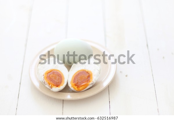 Chinese cuisine, Hard boilled Salted egg