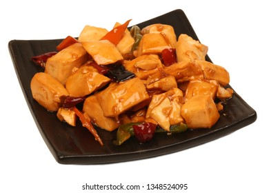 Chinese cuisine with spicy beans