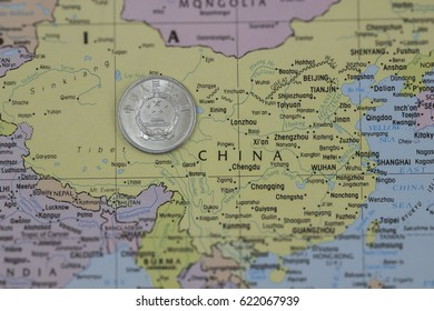 Republic Of China Map Stock Photos Images Photography Shutterstock