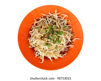 chinese dish - beans sprouts