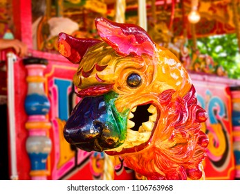 Chinese Dragon carousel animal