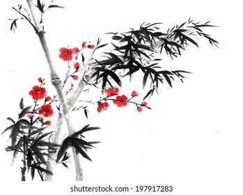 Chinese element--bamboo