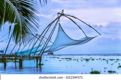 Chinese Fishing Net, Fort Kochi, Kerala