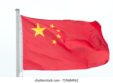 Chinese Flag in Wind