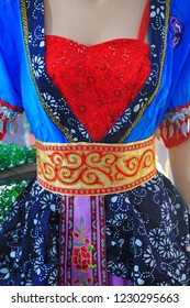 Chinese folk dance Yangge dress