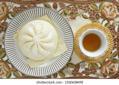 Chinese food, meat bun for Yum Cha image