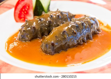 Chinese Food Sea Cucumber