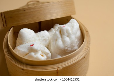 Chinese Food Steam buns pao bao
