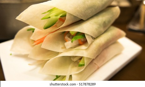 Chinese food Yunnan cuisine Vegetable rolls