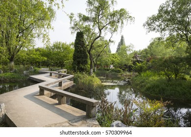 Chinese Garden Bridge Images Stock Photos Vectors