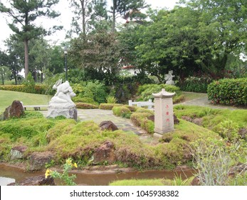 Singaporeu2013Oct24,2013:The Chinese Garden Was Modeled After The Landscaping  Of The