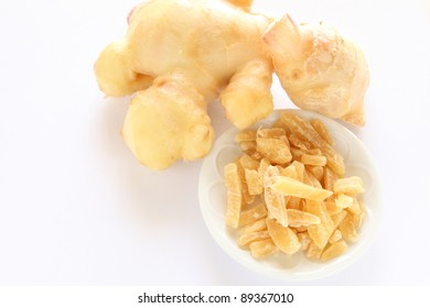 Chinese herbal food, dried ginger