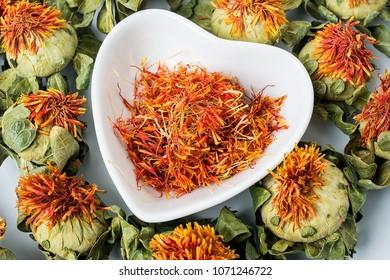 Chinese herbal medicine - safflower/herbal tea