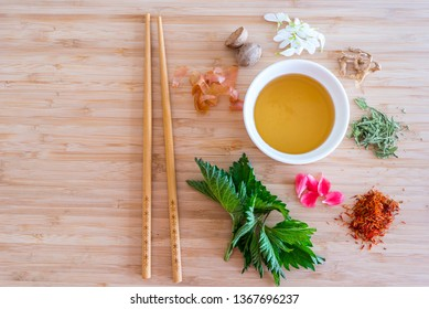 Chinese herbal tea or Eastern Medicine