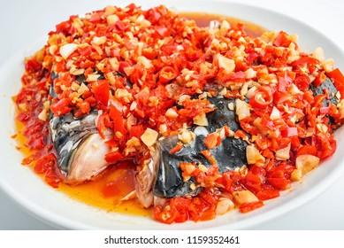 Chinese Hunan cuisine - Clam pepper head