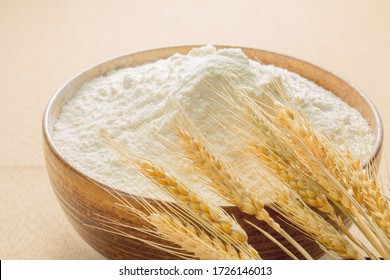Chinese indoor yellow wheat and flour