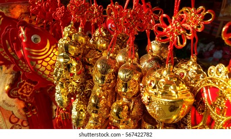 chinese knot in market for Chinese new year festival
