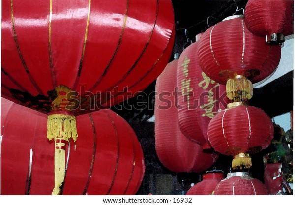 Chinese lanterns, Beijing