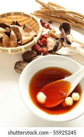Chinese Medical soup
