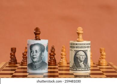 Chinese Money Note vs US Money Note