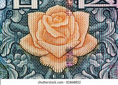 chinese money rmb background macro texture