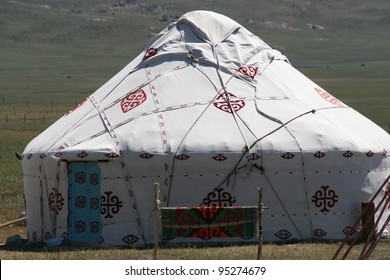 A Chinese Mongol Ger or yurt is a common nomad home and portable enough to be hauled by one camel