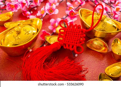 Chinese new year decoration traditional with Asian culture.